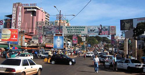 Cidade del Leste, Paraguai. Foto: www.oiguassu.com