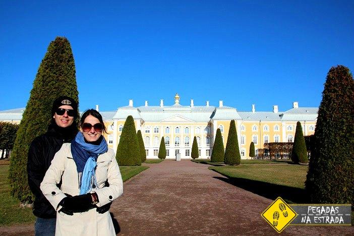 Palácio de Peterhof Roteiro Rússia