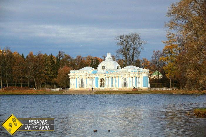 Pontos turísticos São Petersburgo Palácio de Catarina