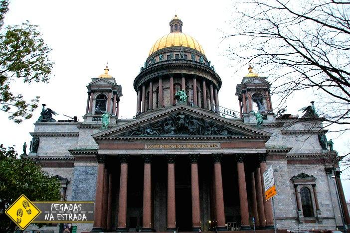 Catedral de Santo Isaac São Petersburgo Rússia