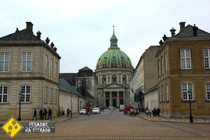 Igreja de mármore Copenhagen
