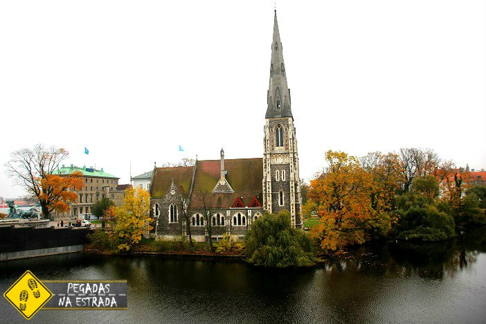 Igreja de Saint Albans Copenhagen