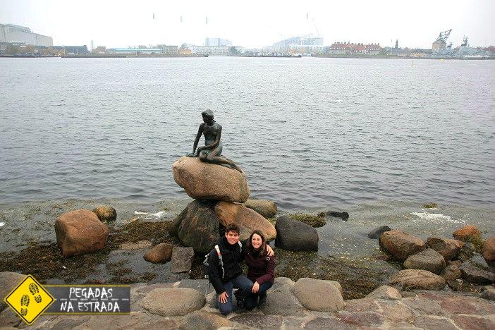 Liitle Mermaid Pequena Sereia Copenhagen