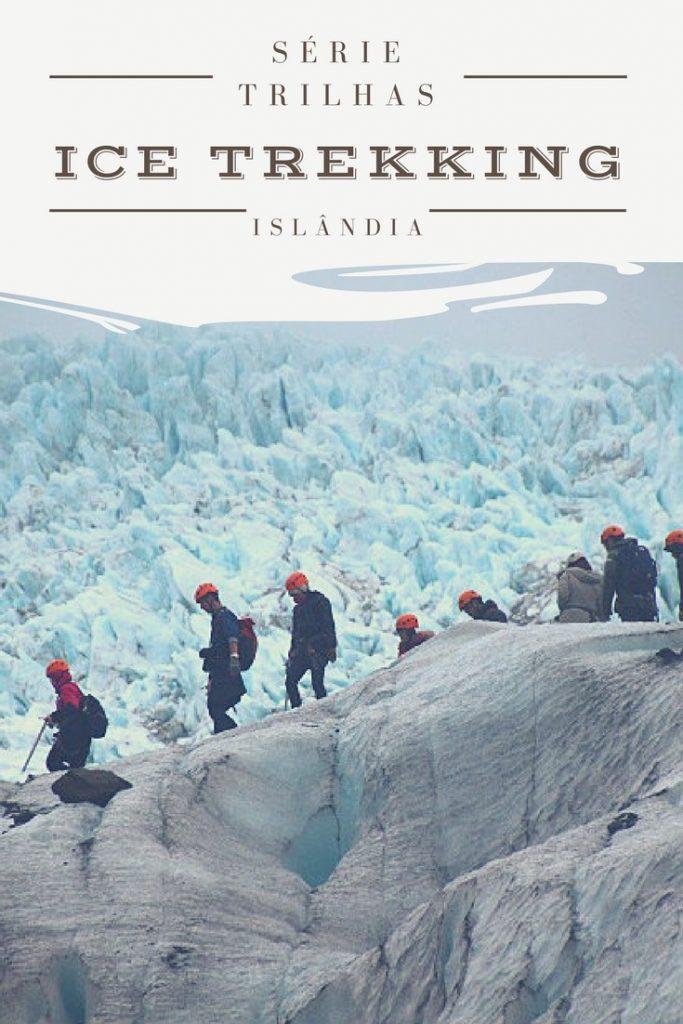 Islândia ice trekking