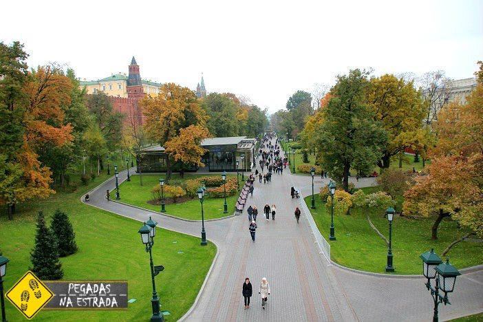 Pontos turísticos Moscou