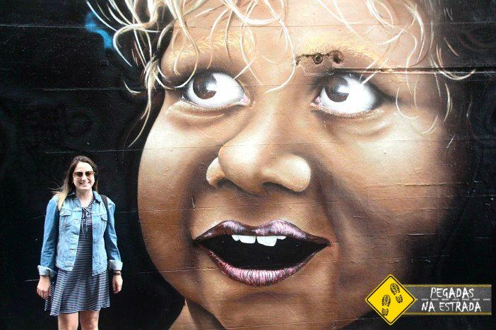 Arte de rua Melbourne