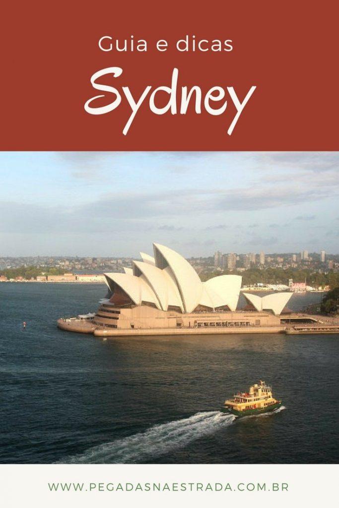 Roteiro completo em Sydney, com dicas de hospedagem, fotografia, atrações e locomoção.