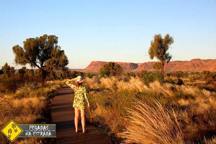 Pontos de interesse Kings Canyon Outback