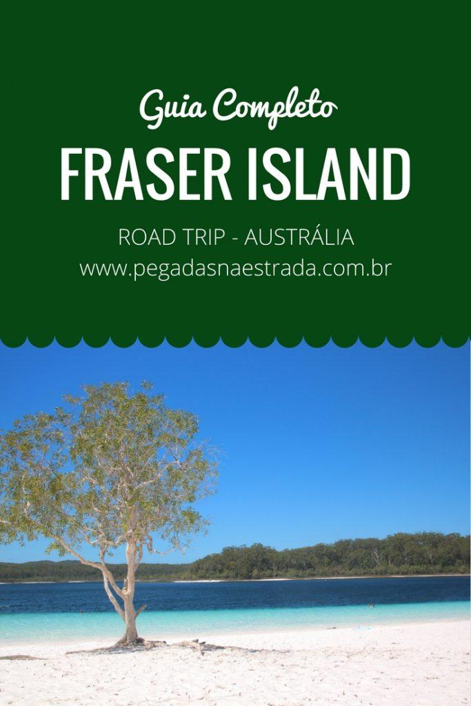 Conheça Fraser Island, a maior ilha de areia do mundo. Faça uma viagem inesquecível de 4x4 por um dos lugares mais lindos da Austrália.