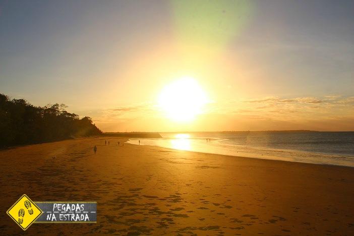 Pôr do sol em Hervey Bay