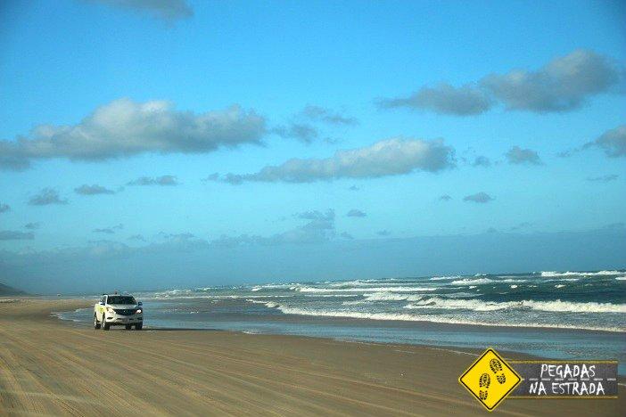 4x4 em Fraser Island