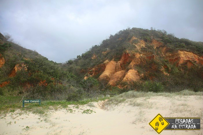 Red Canyon Fraser Island