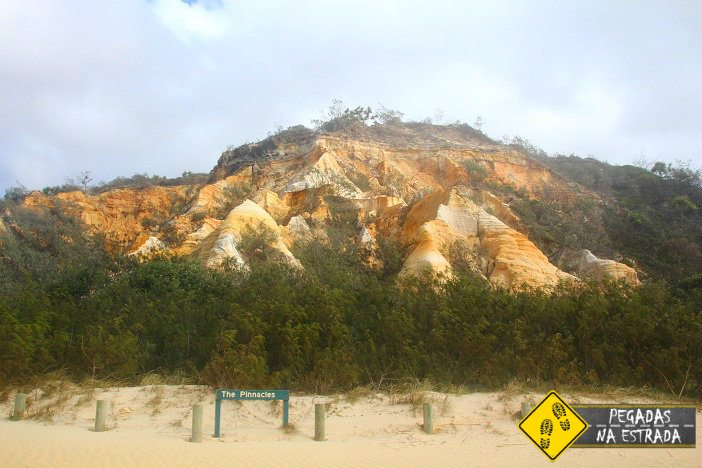 The Pinnacles Coloured Rocks
