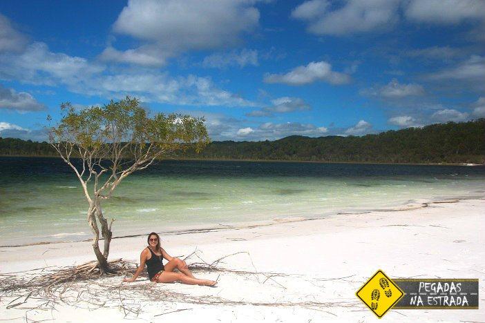 Lago Birrabeen Fraser Island
