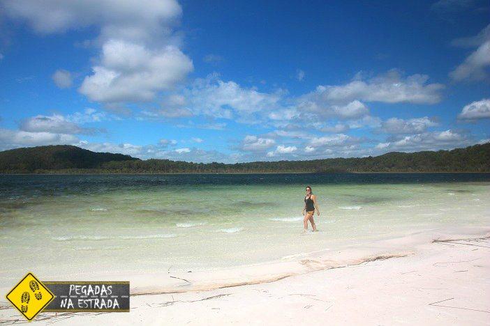 Pontos de interesse ilha Fraser