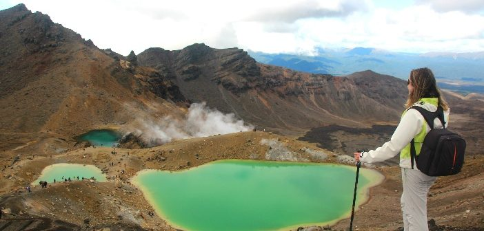 Tongariro Alpine Crossing Nova Zelândia
