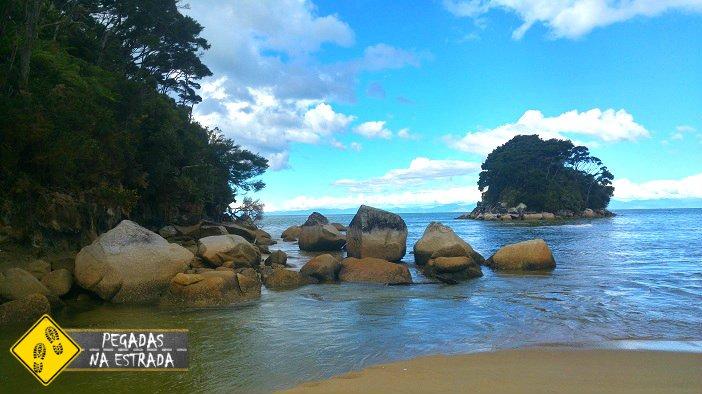 praias Nova Zelândia