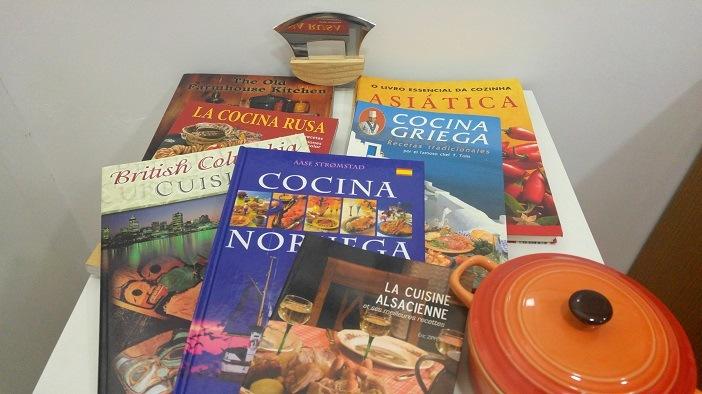Livros de gastronomia internacional