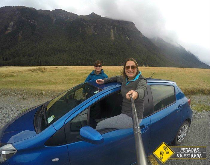Dirigir na Nova Zelândia roteiro dicas