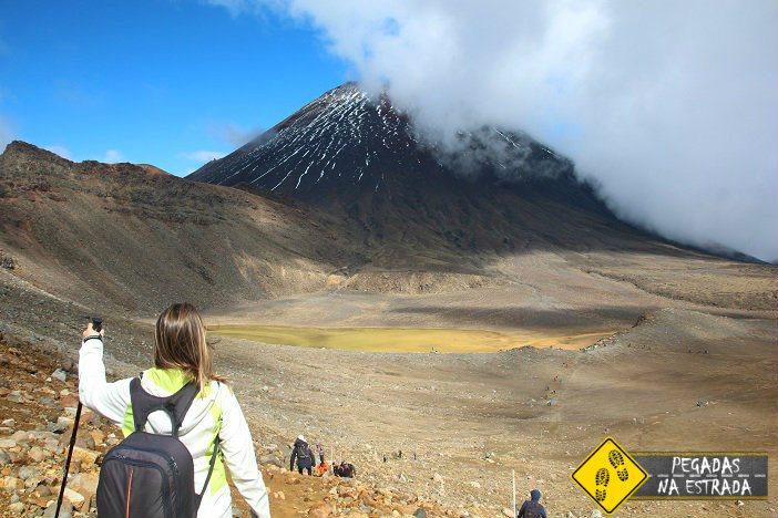 Mount Ngauruhoe, Tongariro Alpine Crossing