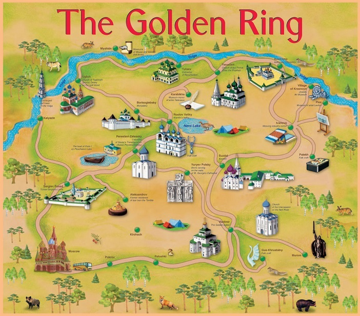 The Golden Ring Russia Sergiev Posad