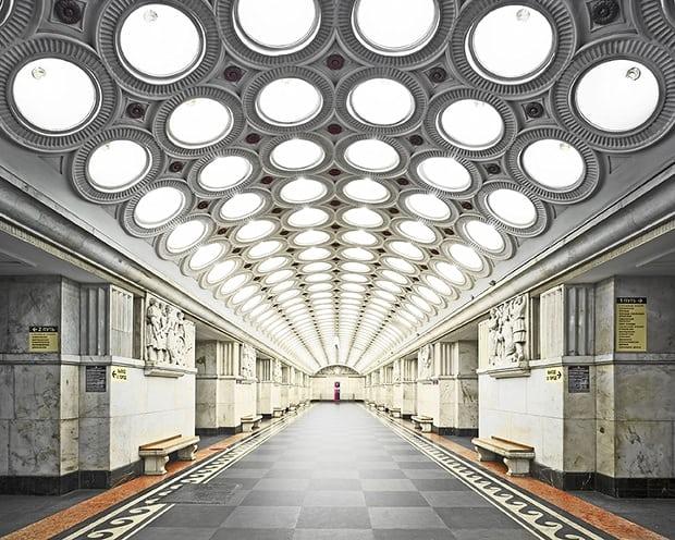 Funcionamento Metrô de Moscou
