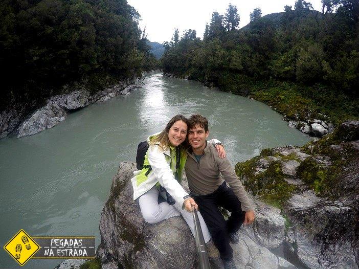Hokitika Gorge paisagens turismo Nova Zelândia