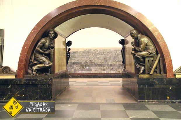 Ploshchad Revolyutsii metro moscow