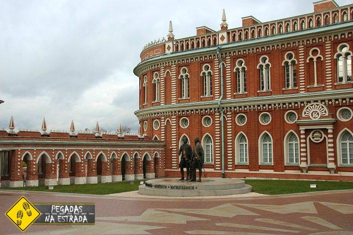 Grand Palace Tsaritsyno Park