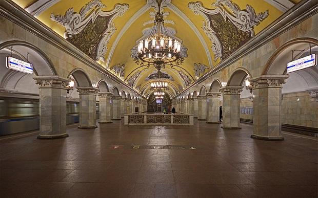 Roteiro Metrô de Moscou