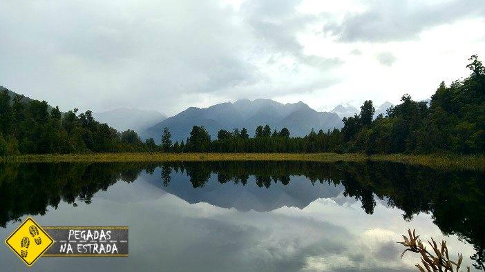 Lago Matheson Nova Zelândia