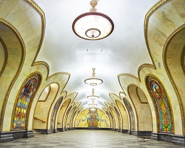 Guia metrô de moscou