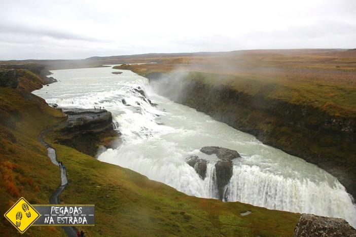 o que fazer na Islândia Gullfoss cachoeiras