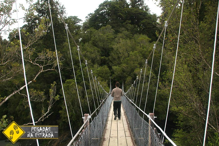 Hokitika Gorge, Nova Zelândia parques