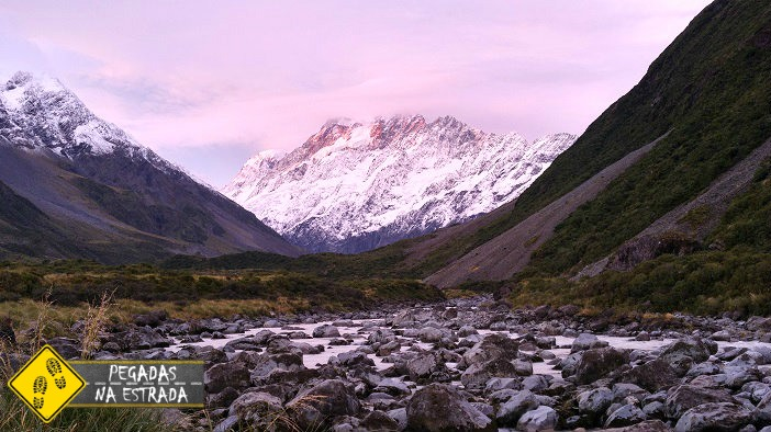 Mount Cook National Park sky