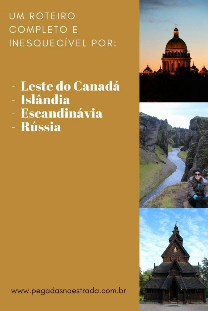O que fazer na Islândia, Canadá, Escandinávia e Rússia