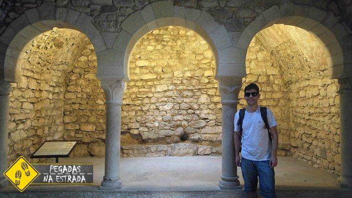 Banhos árabes Girona turismo viagem