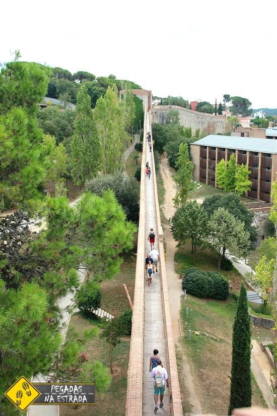 Muralhas de Girona Catalunha Espanha