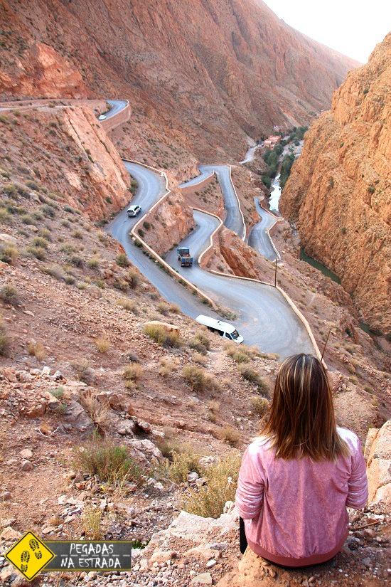 Dirigir no Marrocos Garganta de Dades