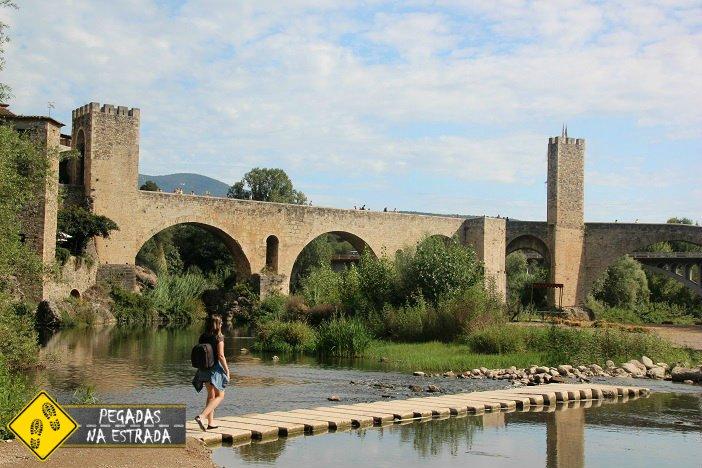 Besalú cidade medieval