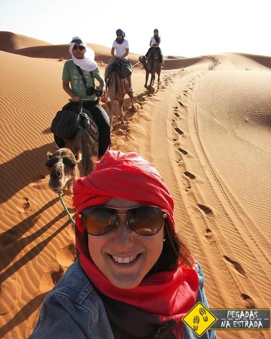 passeio de camelo Deserto do Saara