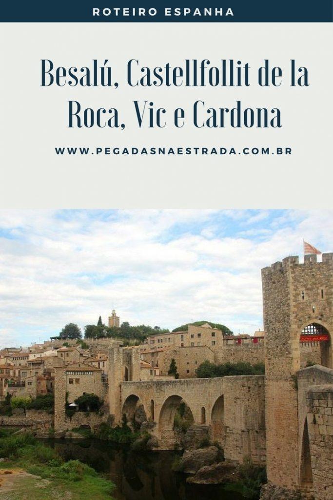 Descubra a incrível Catalunha, passando por cidades lindíssimas como Besalú, Castellfollit de la Roca, Vic e Cardona. Um roteiro próximo à Barcelona!