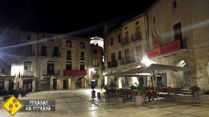 noite Besalú Espanha