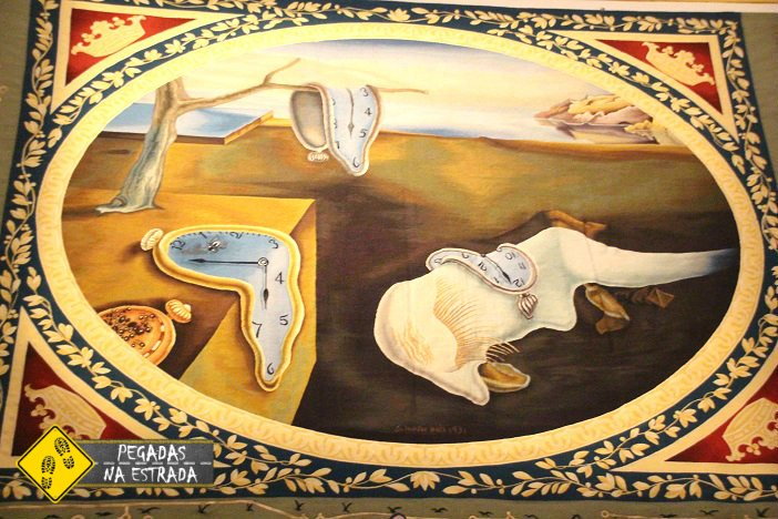 Obra de Dalí no Teatro Museu Dalí Figueres