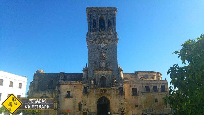 Basílica Menor de Santa María de la Asunción arcos de La Frontera