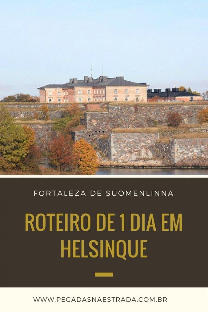 Dicas e roteiro de 1 dia por Helsinque. Conheça a Fortaleza Suomenlinna, a Praça do Senado, o Parque Sibelius e se encante pela capital da Finlândia
