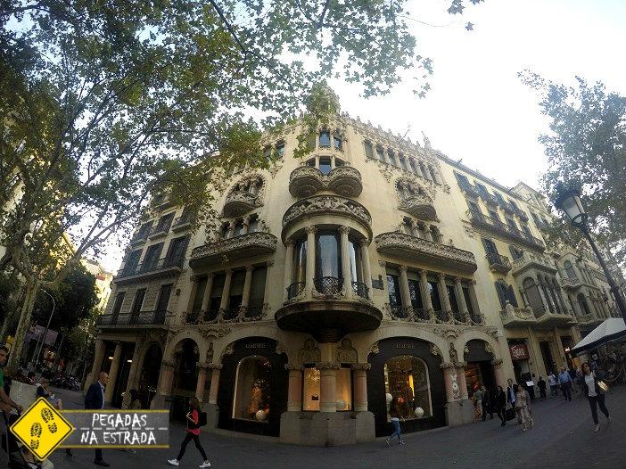 Roteiro em Barcelona