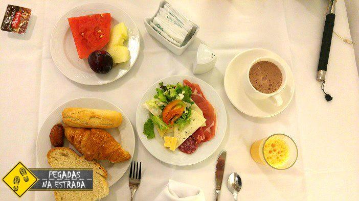 café da manhã hotel toledo