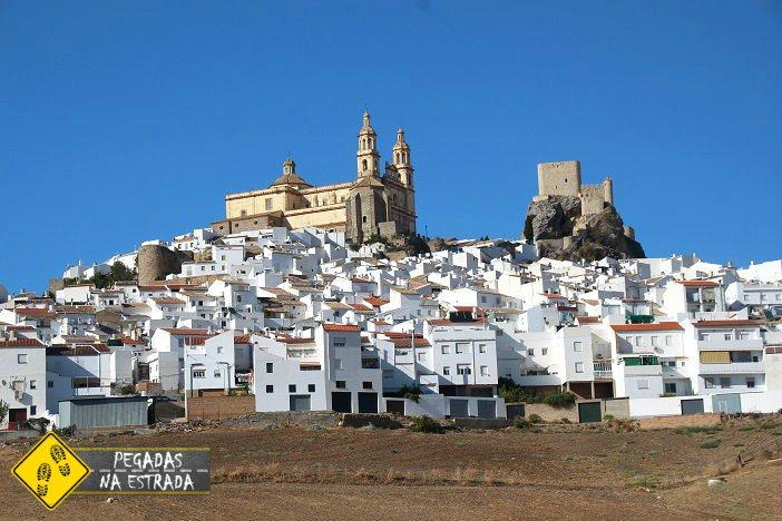 Olvera Pueblos Blancos Espanha
