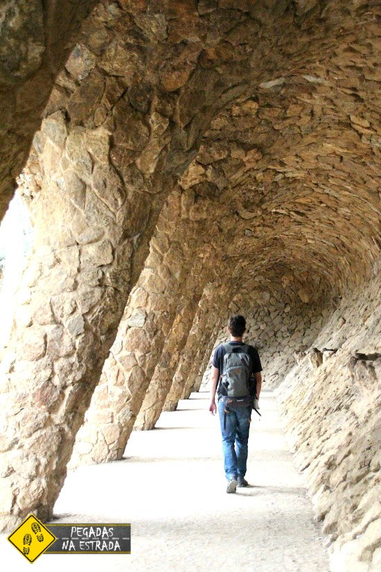 viagem turismo Park Güell Barcelona